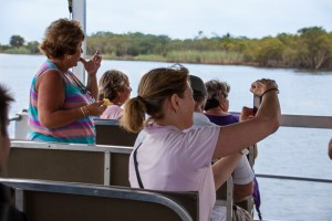 clients on boat cruise st lucia