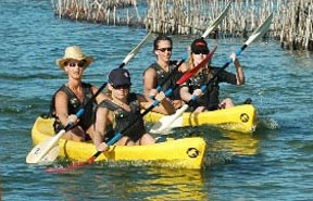 kosi bay activities