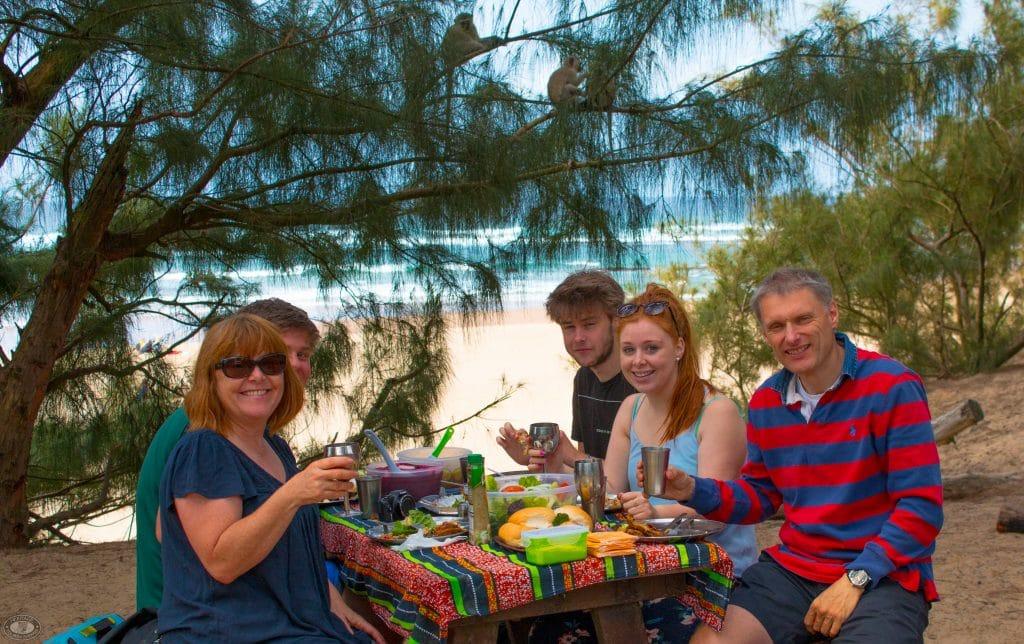 cape vidal picnic spots