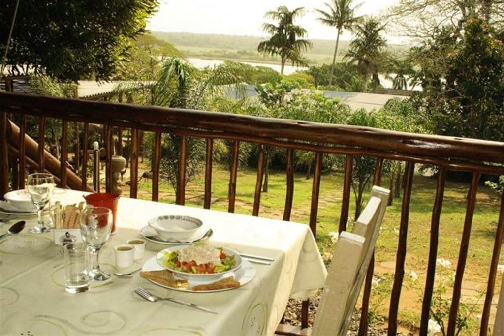 Lidiko Lodge st lucia breakfast