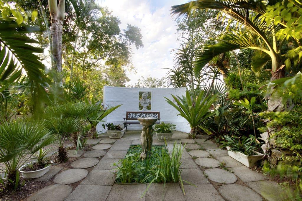 st lucia wetlands guest house garden