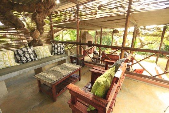 Lidiko Lodge st lucia outside area