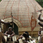 zulu fighting dance demonstration