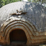 zulu hut rondavel at veyane