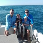 fish species caught while out on a fishing charter