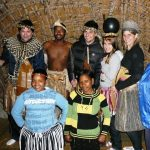 zulu cultural village with clients