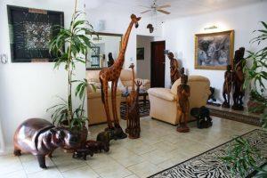 bhangazi lodge st lucia lounge
