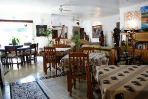 bhangazi lodge st lucia dinning room