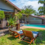 garden and pool area heritage house kzn