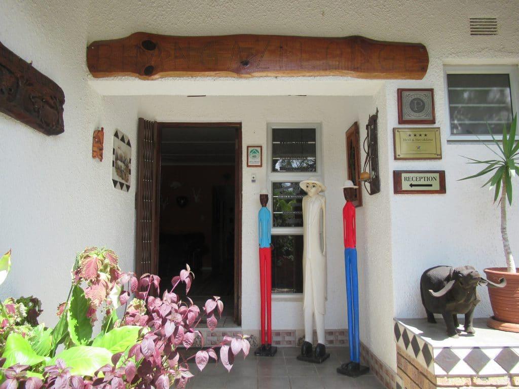 Bhangazi Lodge Entrance