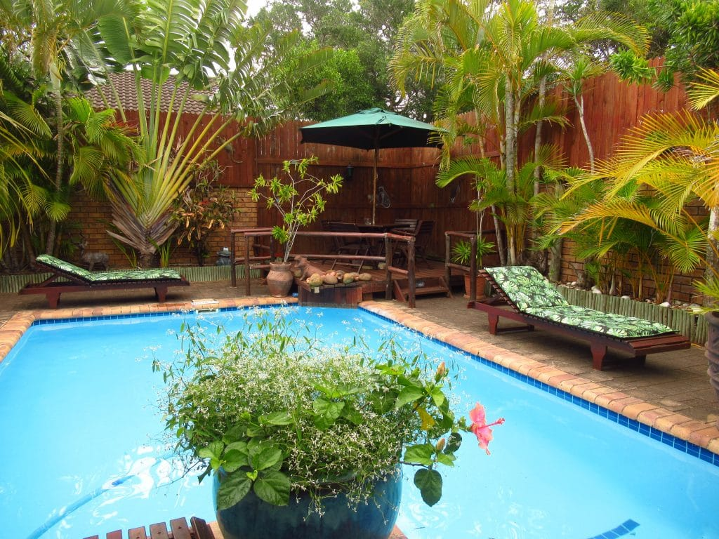 bhangazi lodge pool view
