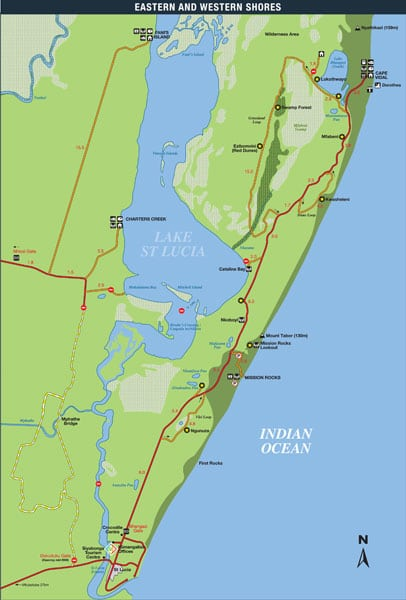 Map-of-iSimangaliso-Wetland-Park-Eastern-and-Western-Shores-S
