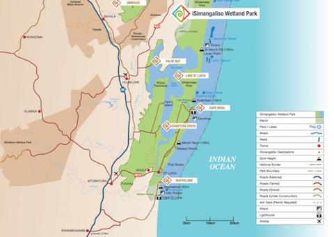 iSimangaliso map