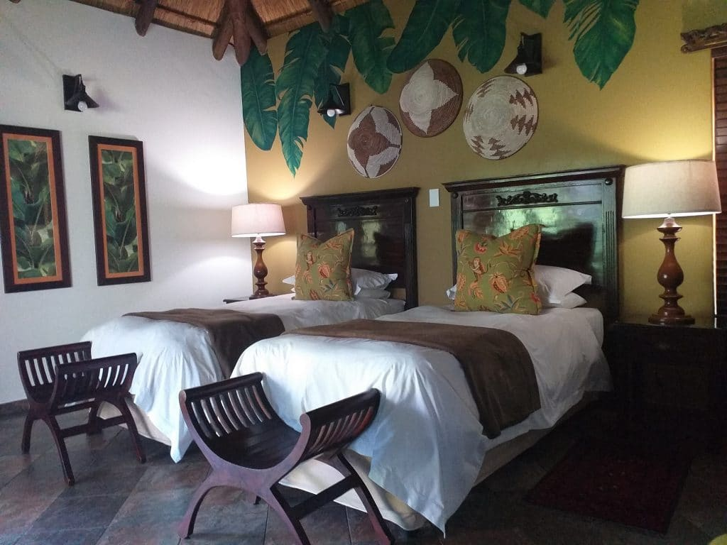 Luxury Twin - room lodge afrique
