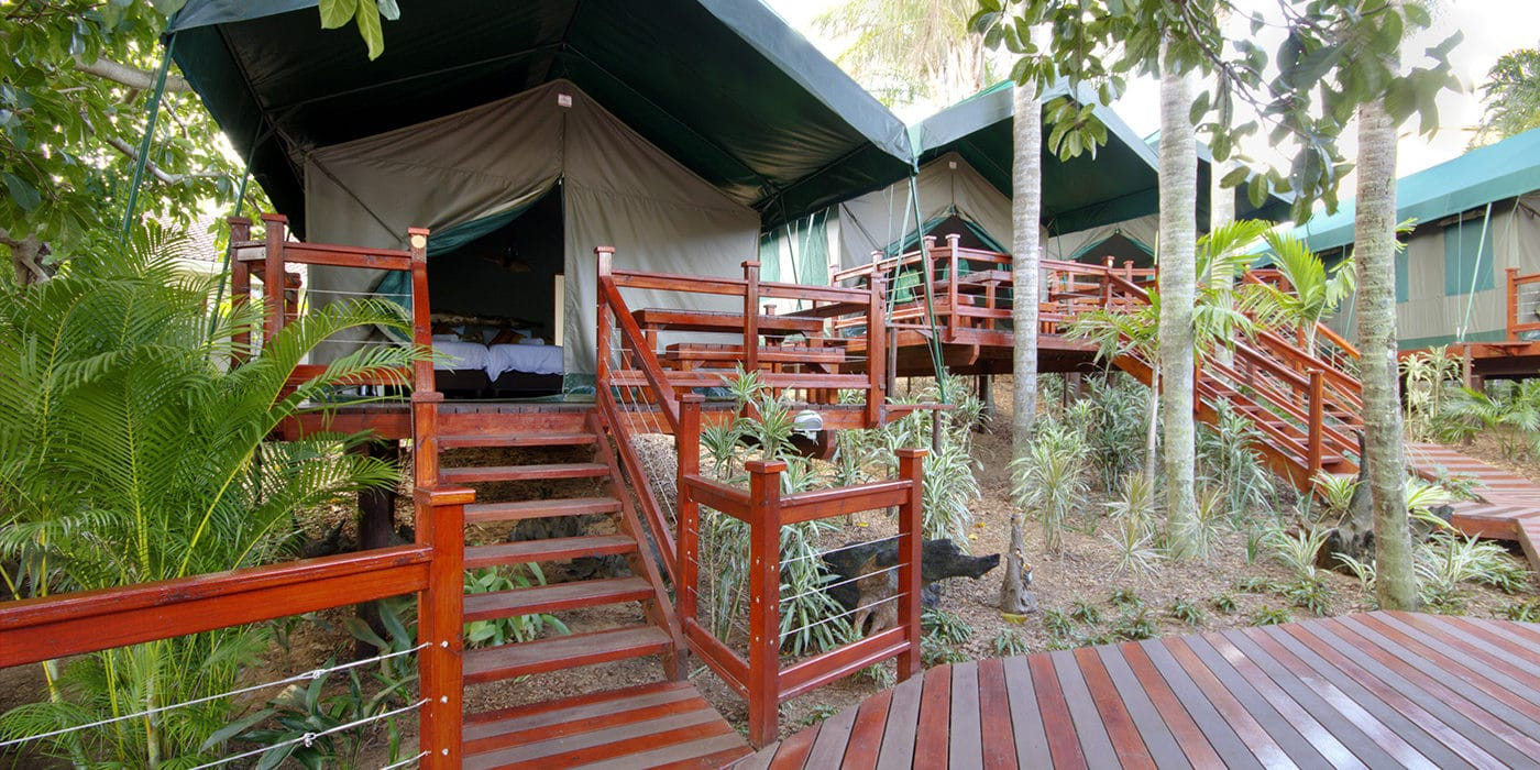urban glamping luxury tents st lucia