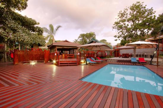 urban glamping tented camp st lucia