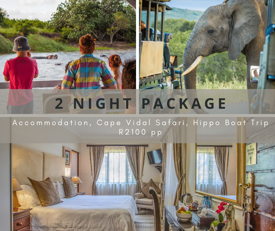 at heritage house 2 night package special