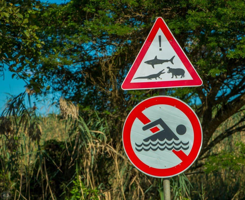 sugarloaf campsite signs at estuary